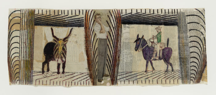 Martín Ramírez. His Life in Pictures, Another Interpretation, at ICA, Los Angeles