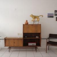 Sergio Pinzón. Vista de la exhibición Quarto Ideal: estilo e espaço no centro de Brasília, Casa Niemeyer, Brasilia, 2017. Cortesía del artista