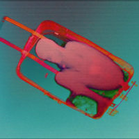 Julio César Morales, Boy in Suitcase, 2015, Edition of 3 + 2 AP, HD animation video with sound, 00:03:33, Courtesy of the artist and Gallery Wendi Norris, San Francisco, © Julio César Morales