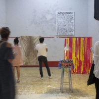 Regañando, 2017. View of the exhibition at Squash Editions. Courtesy of Squash Editions