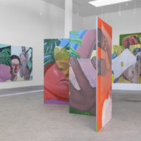 Anja Salonen. Installation view at New Dimensions in Recreation, ltd los angeles, Los Angeles, 2017. Image courtesy of the artist and ltd los angeles. Photo credit: Blake Jacobsen