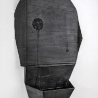 Michael Sailstorfer, M. 60, 2017. Hierro fundido, 72 x 57 x 17 cm. Foto: Estudio Michael Sailstorfer. Cortesía del artista y PROYECTOSMONCLOVA