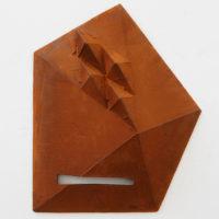 Michael Sailstorfer, M. 25, 2015. Bronce fundido, bomba hidráulica, 78 x 45 x 19 cm. Foto: Estudio Michael Sailstorfer. Cortesía del artista y PROYECTOSMONCLOVA