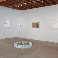 Gwladys Alonzo, Cynthia Gutierrez, Gonzalo Lebrija, Gabriel Rico, Eduardo Sarabia. Installation view of VECINOS, CULT, San Francisco, 2017. Courtesy of CULT