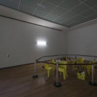 Miúda, Rodinha de abertura, 2016. Performance