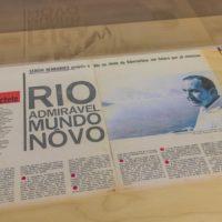 Sérgio Bernardes, Rio do Futuro, Revista Manchete, 1965. Print