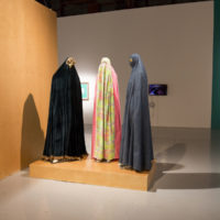 Group show. Exhibition view of The Third Muslim, SOMArts Cultural Center, San Francisco, 2018. Photo Credit: Chani Bockwinkel. Courtesy of SOMArts Cultural Center