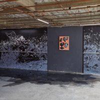 Installation view. Agua del día, 2018. Image courtesy of AGUAS.
