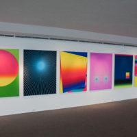 Rafael Alonso, Don't you (forget about me), 2017. Digital print on paper, 130 x 100 cm each. Installation view at Museu de Arte Contemporânea de Niterói – MAC Niterói. Photo by Joao Race.