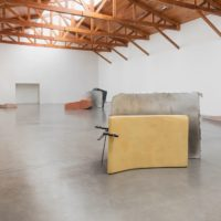 Nairy Baghramian, installation view of Maintainers, 2017. Courtesy of the artist and kurimanzutto, Mexico City