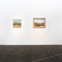 Vista de la exhibición grupal Capital Capital, Galería Libertad, Querétaro, México, 2018. Cortesía de Galería Libertad