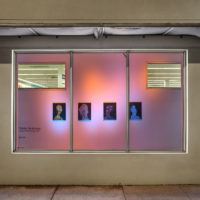 Odalis Valdivieso. Installation view of Nearly Contemporary, ArtCenter/South Florida's Windows @ Walgreens program, 2017-2018. Courtesy of ArtCenter/South Florida