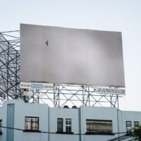 """Installation view of Felix Gonzalez-Torres, """"Untitled"""", 1995, billboard, dimensions vary with installation, private collection, New York. Courtesy of Felix Gonzalez-Torres Foundation. Photo: PJ Rountree"""
