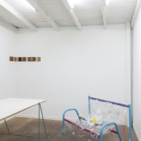 Installation view. Irina Kirchuk. Courtesy: ZMUD gallery. Photo credit: Javier Agustin Rojas