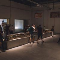 Santiago Leana. Vista de la exposición Húmedo en El Gran Vidrio, Córdoba, Argentina, 2018. Fotografía: Marcos Rostagno y Dan La Crema. Cortesía de El Gran Vidrio