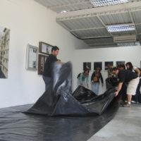 Rafael Serrano, Situación de posible desplazamiento, 2011. Cortesía de Oficina #1