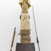Daniel Lind Ramos, Afro-dita Assemblage, mixed media, 96 x 34 x 47 inches. Photo courtesy: Raquel Pérez Puig