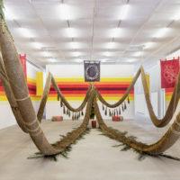 Daniel Lie. Exhibition view of Filhxs do Fim at Casa Triângulo, Sâo Paulo, Brazil, 2018. Fotos by Felipe Berndt. Courtesy of Casa Triângulo