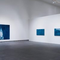 Yishai Jusidman: Prussian Blue, installation view, Yerba Buena Center for the Arts, San Francisco, 2017. Courtesy Yerba Buena Center for the Arts. Photographs by Charlie Villyard