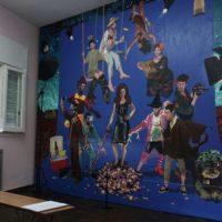 Vista de la exposición La muestra del millón en UV Estudios, Buenos Aires, Argentina, 2018. Foto Ariel Authier. Cortesía de UV Estudios