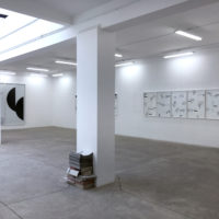 Juan López, \t>x`t/, 2018. Installation view. Photo: Ana Rico and Juan López. Courtesy Galería Tiro al Blanco