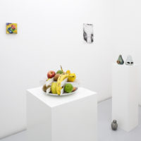 Group show. Installation view of The Lulennial II: A Low-Hanging Fruit, at Lulu, Mexico City, 2018. Courtesy of Lulu