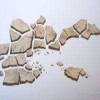 Estío. Lápiz de color sobre papel, 2018. 50 x 35 cm. Cortesía de 206 Arte Contemporáneo