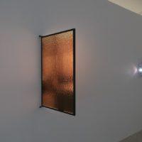 Javier M. Rodríguez, Concha y Escorza, 2017. Proyección de video sobre ventana. Cortesía de los artistas. Foto: Javier M. Rodríguez