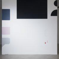 Leo Marz, Las batallas del display, 2018. Acrílico sobre muro. Cortesía de los artistas. Foto: Javier M. Rodríguez