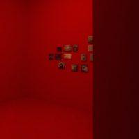 Leo Marz, 40 días, 2018. Tóner seco y acrílico sobre tela. Cortesía de los artistas. Foto: Javier M. Rodríguez