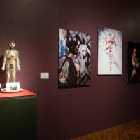 Guillermo Gómez-Peña. Vista de la exposición Mexican (IN)documentado, Museo de Arte Moderno, Ciudad de México, México, 2018. Cortesía del Museo de Arte Moderno