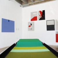 Group show. Exhibition view of Solid Abstraction. Disobedience strategies in Contemporary Cuban Art, Miami Biennale, Miami, 2018. Cortesía Alejandro Taquechel