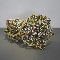 Huevo izquierdo y derecho, $€£ƒ = (+_+), Daniel Ruanova, 2018. Imagen cortesía del artista y PARQUE Galería. Foto: Ramiro Chaves