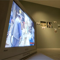 Vista de exhibición, Cambio de lugar en el Centro Cultural La Moneda, Santiago, Chile.