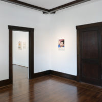 Brad Phillips. Installation view of Paintings for the people of Houston, at Jonathan Hopson Gallery, Houston, Texas, USA, 2018. Courtesy of Jonathan Hopson Gallery