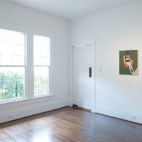 Brad Phillips. Installation view ofPaintings for the people of Houston, atJonathan Hopson Gallery, Houston, Texas, USA, 2018. Courtesy ofJonathan Hopson Gallery