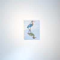 My beautiful duck, 2018 oil on canvas. Courtesy ofJonathan Hopson Gallery