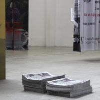 Erick Beltrán. Vista de la exposiciónEl sueño de Laocoonte, enProyecto Siqueiros: La Tallera,Cuernavaca, Morelos, México, 2018. Cortesía de La Tallera