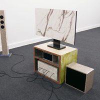 Vista de la exposición de Gabriel Acevedo Velarde en la galería Livia Benavides – 80m2, Lima