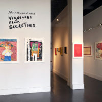 Michael Menchaca. Exhibition view of Vignettes from San Antonio, at Ruiz-Healy Art, San Antonio, Texas, USA, 2018. Courtesy of Ruiz-Healy Art