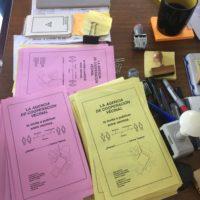 Material de la Agencia de cooperación vecinal