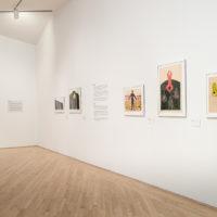 Exhibition view of Nkame: A Retrospective of Cuban Printmaker Belkis Ayón (1967–1999), at Kemper Museum of Contemporary Art, USA, 2018. Courtesy Estate of Belkis Ayón