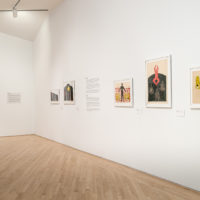 Exhibition view of Nkame: A Retrospective of Cuban Printmaker Belkis Ayón (1967–1999), at Kemper Museum of Contemporary Art, USA, 2018. Courtesy Estate of Belkis Ayón