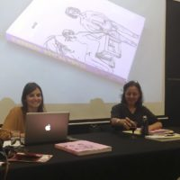 Presentación del libro de Elena Tejada-Herrera por Florencia Portocarrero y Natalia Majluf en PArC