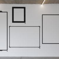Carla Zaccagnini, Elementos de belleza: un juego de té nunca es sólo un juego de té, 2014. Mural y audioguías. Cortesía de la artista y Ladera Oeste