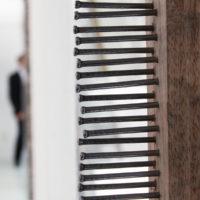 Gina Arizpe. Vista de la exposición Cuestión de tiempo, Sala de Arte Público Siquerios, Ciudad de México, México, 2018. Cortesía deSala de Arte Público Siquerios