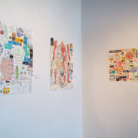 Margarita Cabrera and Cisco Jiménez. Exhibition view ofCollaborative Work   Sounds from the Archeological Time Machine, at Ruiz-Healy Art, San Antonio, Texas, 2018. Courtesy ofRuiz-Healy Art