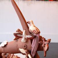 Margarita Cabrera. Arbol de la Vida: Pala / Shovel 2, 2007. Courtesy of Ruiz-Healy Art