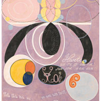 Hilma af Klint. The Ten Largest, No. 5, Adulthood, Group IV, 1907. Courtesy of Pinacoteca de São Paulo