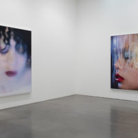 Installation view of Marilyn Minter at Regen Projects, Los Angeles. May 19 - June 23, 2018. Photo: Brian Forrest, Courtesy Regen Projects, Los Angeles. © Marilyn Minter, Courtesy Regen Projects, Los Angeles